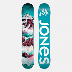 Jones Trim-to-fit Nomad Splitboard skins climbing, featuring Universal Tail Clip