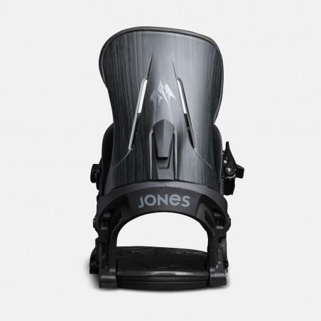 Jones Pre-cut Nomad Splitboard skins climbing, tail clip photo