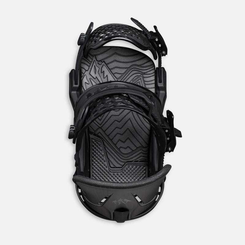 Jones Trim-to-fit Nomad Pro Splitboard skins climbing, enjoy your climb photo