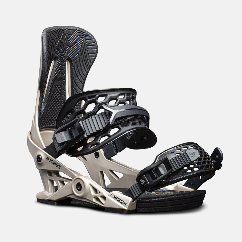 Jones Trim-to-fit Nomad Pro Splitboard skins climbing, close up detail photo