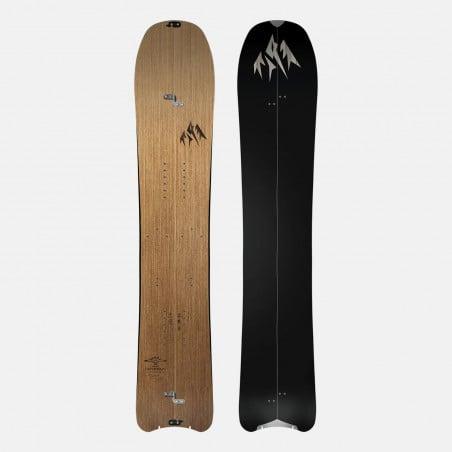 Jones Mercury Snowboard Bindings featuring SkateTech, shown in black color, quarter front view